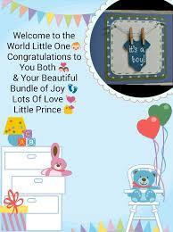 Congratulations For A Baby Boy New Born Baby Boy Congratulations Card Congratulations