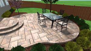 patio stamped concrete textured installing to improve home value designs patterns stained concrete patios textured