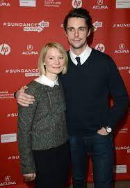 Mia Wasikowska posed with Matthew Goode on the red carpet at the | The Best  Celebrity Moments From the Sundance Film Festival