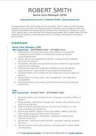 Examples Of Lpn Resumes Lpn Resume Samples Qwikresume
