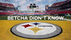 why is the pittsburgh steelers logo only on one side betcha didn t know you