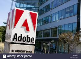 adobe office. an office building occupied by adobe systems
