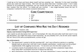 Adjectives For Resumes New Shocking Adjectives For Resumes Resume Templates Descriptive Power