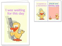 Funny Birthday Card Printables Printable Birthday Cards For Mom Funny Happy Holidays