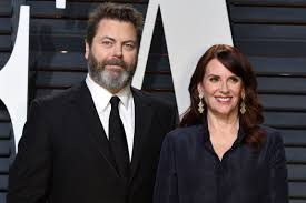 Megan Mullally Megan Mullally Made Nick Offerman Wait Four Months For Sex Page Six