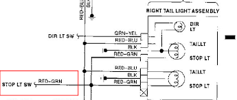 altima tail light wiring diagram wiring diagrams online altima tail light wiring diagram 3rd ke light internal fuse thermal limiter nissan forum