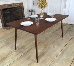 Danish Modern Dining Table Black Walnut Dining Table Mid Century Modern Featuring