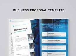 Free Business Templates Free Business Proposal Template Indesign
