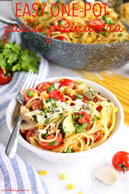 Easy One Pot Pasta Primavera