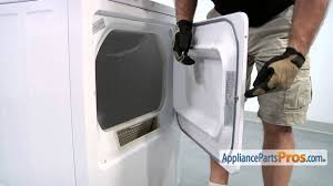 Dryer Door Strike (part #WE1X1192) - How To Replace - YouTube
