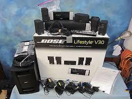 bose v30. bose lifestyle v30 5.1 ch home theater system e-66