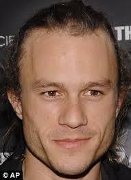 joker makeup existed before the rougher look was found heath ledger
