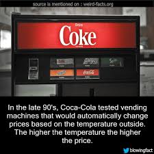 How To Change Prices On Vending Machines Simple Weird Facts In The Late 48's CocaCola Tested Vending