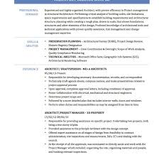 Architecture Resume Examples Project Architect Resume Example Template Architecture List Senior 71