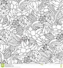 nature colouring pages for adults. Plain Pages Coloring Pages For AdultsDecorative Hand Drawn Doodle Nature Ornamental  Curl Vector Sketchy Seamless Pattern And Nature Colouring Pages For Adults S