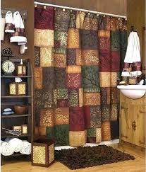 wilderness shower curtain rustic shower curtain images wilderness cabin lodge curtains 9 design rustic shower curtain