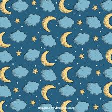 Moon Pattern Inspiration Ai] Moon Pattern Collection Vector Free Download Pikdone