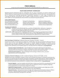 12 Helpdesk Resume Happy Tots