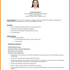 Objective For Housekeeping Resume Housekeeper Resume Objective Magnificent Hospital Housekeepingisor 17