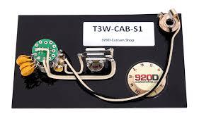 920d wiring harness for fender custom shop la cabronita especial w 920d wiring harness for fender custom shop la cabronita especial w s1 sigler music