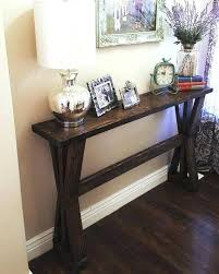 Diy entry table plans Diy Farmhouse Diy Entry Table Hallway Table Plans Modern Skinny Sofa Table Awesome Stylish Distressed Entry Table And Diy Entry Table Tomogoco Diy Entry Table Entry Table Entryway Table Diy Plans Tomogoco