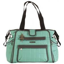 Nola Tote Diaper Bag - Featherweight Quilted Nylon &  Adamdwight.com