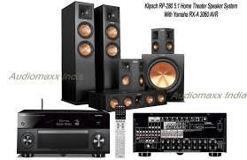 klipsch 5 1 surround sound system. klipsch rp-280 5.1 home theater cinema speaker pack with yamaha avr rx-a3060 .   ebay 5 1 surround sound system