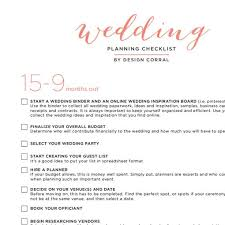 wedding checklist templates wedding checklist printable pdf