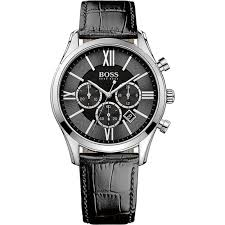 1513194 hugo boss ambassador black watch 29 hugo boss ambassador 1513194 mens watch black tone and chronograph feature