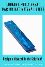 looking for a great bar or bat mitzvah gift idea design a mezuzah is the