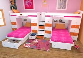 Twin Kids Bedroom Set Girls Sets In Bed Image Of For Double Plan ...