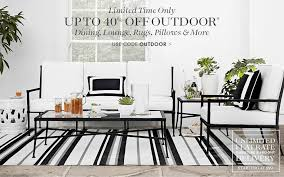 williams sonoma outdoor furniture early july