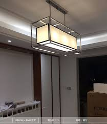 long pendant lighting. aliexpresscom buy stainless steel oblong rectangle cuboid long pendant light lamp fabric hanging droplight dinning room from reliable lighting