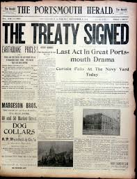 「Treaty of Portsmouth, Portsmouth Peace Treaty」の画像検索結果
