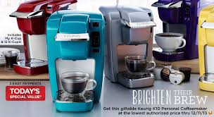 keurig coffee maker colors. Brilliant Maker If A Keurig Is On Your Holiday Gift List Be Sure To Head Over QVC  TODAY ONLY 121113 You Can Get The K10 Personal Coffee Maker With My KCup  Inside Colors