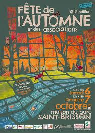 affiche fête de l automne et des ociation du morvan