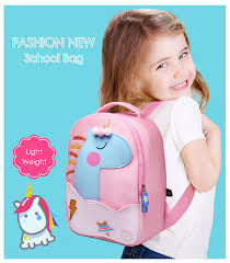 <b>2019 New</b> Fashion Unicorn School Bags for Girls Boy <b>Cute Animals</b> ...