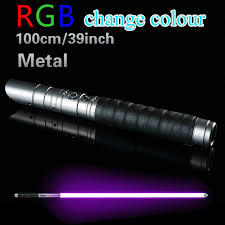 Jedi Light Metal Lightsaber Rgb Jedi Sith Saber Light Force Fx Lighting