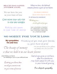 Condolence Sample Note For Sympathy Cards That Express Your Deepest Condolences 8
