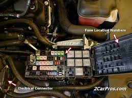 fuse box dodge avenger 2009 fuse wiring diagrams online