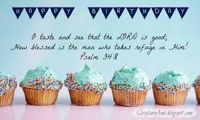 Happy Birthday Image With Cupcakes And Psalm Mollys Cupcakes Free