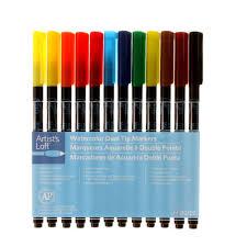 Artist Loft Sketch Markers Color Chart Artists Loft Watercolor Markers By Artists Loft