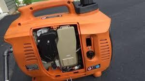 Generac Ix2000 Overload Light Stays On Generac Ix2000 Generator Fix Almost Done