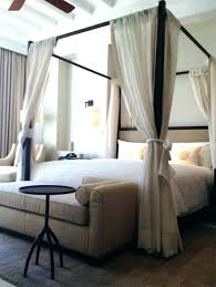 Beds With Curtains Black Canopy Bed Dark And Ideas For Your Bedroom ...