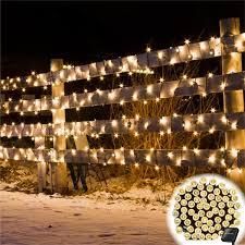 fairy lighting. Solar-Powered LED Fairy Lights (55 Ft) Lighting