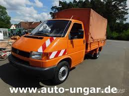 Used Volkswagen VW T4 Syncro Allrad 4x4 Pritsche Plane Diesel pickup ...