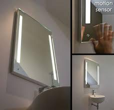 Small Illuminated Bathroom Mirrors Large Heated Enjoyable Design