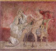 wall painting from room h of the villa of p fannius synistor at boscoreale