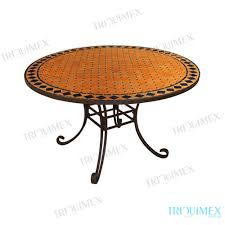 round moroccan mosaic dining table made in vietnam