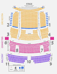 Five Point Amphitheater Seating Chart Sacramento Community Center Theater Seating Chart Elegant 14